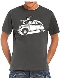 Youngtimer - Citroen Model 2 CV Ente T-Shirt S-5XL div. Couleurs