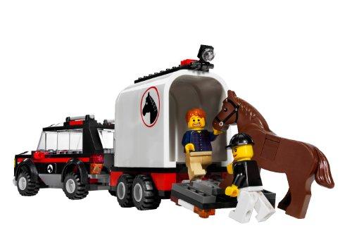 Imagen 8 de LEGO City 7635 - Transporte de caballos [versión en inglés]