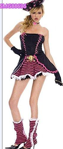 DLucc Brand new Halloween-Kostüm Fluch der Karibik Kostüm-Party Kleidung weibliche Modelle zeigen Kleider , #5