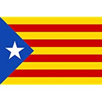 fc875cb7912ad DURABOL Bandera de Inde.Catalan Estelada blava-catalunya -cataluña  independentista 150 x 90