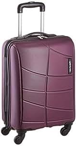 Safari Polycarbonate 55 Cms Magenta Purple Hard Sided Suitcase & Trolley Bag