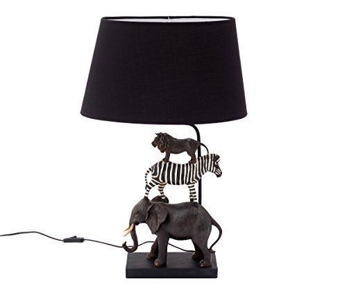 Tischlampe Kinderzimmer Kinder Tiere Safari Nachttischlampe Kinderlampe Lampe Für Jungen Mädchen Kinderzimmerlampe Kinderleuchte Elefant Löwe Zebra Nachtlicht Babyzimmer Brillibrum Flyer
