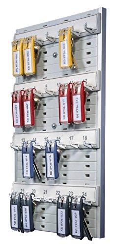 Durable 195610 Schlüsselbrett Key Board 24 (für 24 Schlüssel) grau