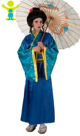 Imagen de disfraz de geisha masato para niña a 3/5a