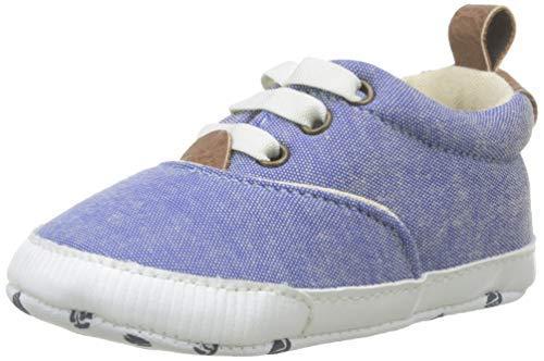 Zippy Zapatillas De Tela para ReciÃn Nacido, casa para Bebés, Azul (Blue...