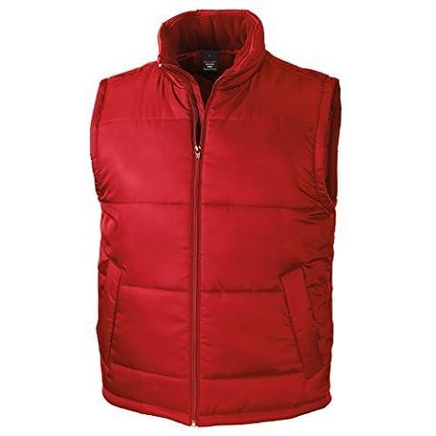 Result Core Bodywarmer Mens Lightweight Windproof Full Zip Outdoor Gilet Vest M