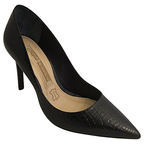 Buffalo London Damen Zs 6557-16 Soft Reptil Pump
