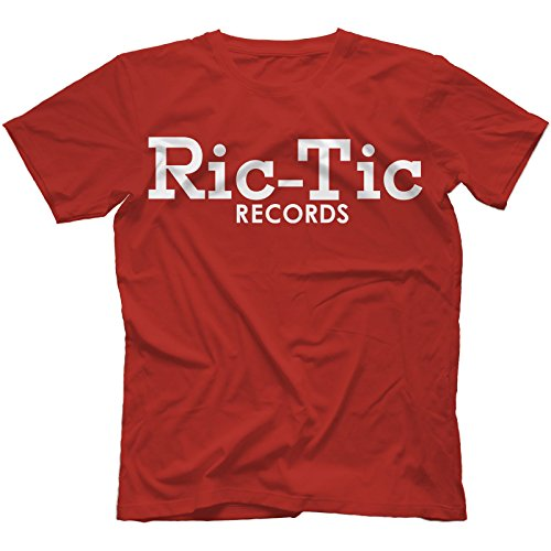 Ric-Tic Records T-Shirt in 13 Farben Rot