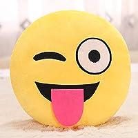 Emoji Cushion Colourful Novelty Gift Emoticon Cushion Pillow Emoji for Boys Girls Adults