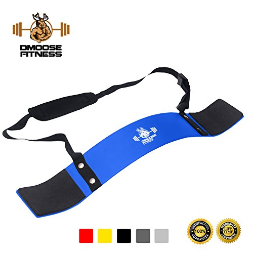 DMoose Fitness Arm Blaster (Blau)