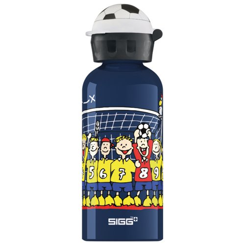 Sigg Trinkflasche Football Club, Blau, 0.4 Liter, 8323.20