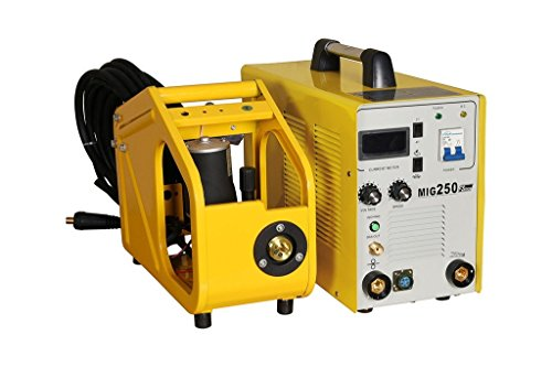 GK 36 & CO 250 AMPS SINGLE PHASE MIG WELDING MACHINE WITH STANDARD ACCESSORIES