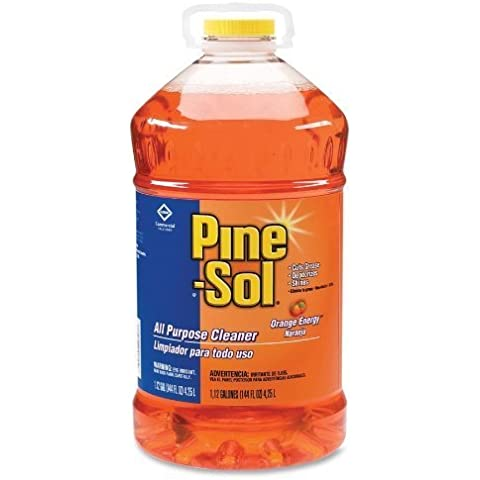 All-Purpose Cleaner, Orange Scent, 144 oz. Bottle, 3/Carton by (Pine Sol All Purpose Cleaner)
