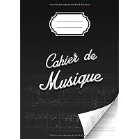 Cahier de musique avec portées et annotations pour la composition musicale - solfège - partitions - 48 pages - Grand…