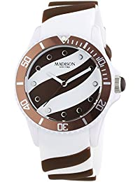 Madison New York analog Lollipop multi-color dial Unisex watch - U4620-19