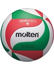 Molten - Balón de voleibol oficial (talla 5), color blanco