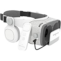 BOBOVR Z5 3D VR gafas Realidad Virtual con Auriculares Headset Gafas para Ver 3D Películas / Juegos Compatible Daydream Gamepad FOV120 IPD Focus Adjustablei Phone 6S / 6 Plus / 6 / 5S / 5C / 5 Samsung Galaxy S8/S8+ S5 / S6 / Nota4 / Nota5