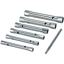 Silverline 589709 - Juego de llaves de vaso (tamaño: 8-19mm, pack de 6)