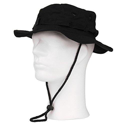 AlxShop - Chapeau Brousse De Luxe - Taille : 57/M - Couleur : Black