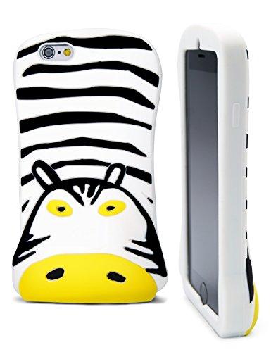 Idiot monstre Coques en silicone pour Apple iPhone 6/6S (11,9cm)