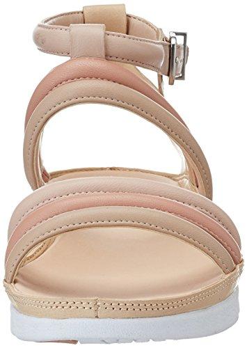 Clarks Damen Tri Nyla Knöchelriemchen Pink (Pink Combi)