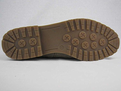 Pep Step 1003419 Damen Schlupf/Reißverschlussstiefelette Warmfutter sportlicher Boden Mud