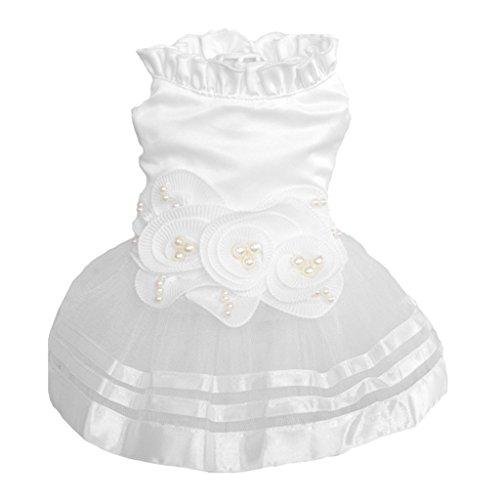 Ruda Haustier Hund Hochzeit Kleid Prinzessin Welpe Charming Cute Rock Kleidung Tutu Rock Braut Kostüm Tolles Geschenk