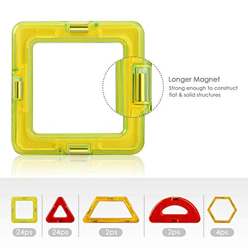 Zoom IMG-3 intey costruzioni magnetiche bambini set
