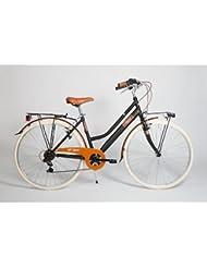 """Bicicleta Regina New Corso Como 28"""" deMujer 7Velocidades, negra, -"""