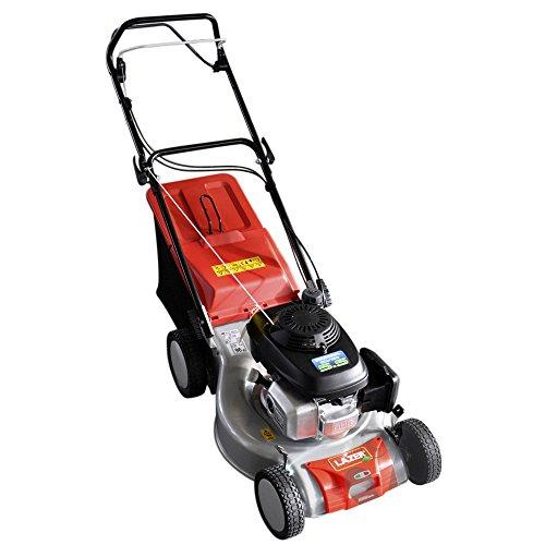 LAZER SP46 SH-GCV160 - Tondeuse thermique - Honda GCV160 - 47 cm - autotracté - Bac 45 litres - Raccord rapide pour nettoyage