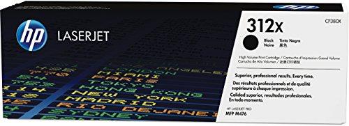 Preisvergleich Produktbild HP 312X (CF380X) Schwarz Original Toner mit hoher Reichweite für HP Color Laserjet Pro MFP M476