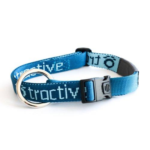Tractive TRATR1 - Collar de Perro, pequeño, color blanco, talla pequeña