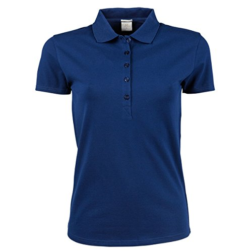 Tee Jays - Polo stretch à manches courtes - Femme Bleu