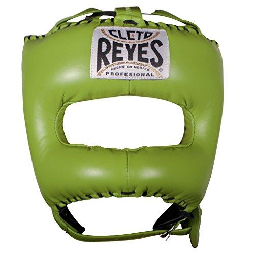 Cleto Reyes CE388G Protector de Cabeza, Unisex Adulto, Verde (Limón), Talla Única