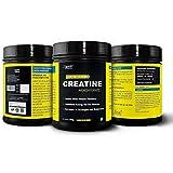 HealthVit Fitness Micronised Creatine Monohydrate Powder - 300 g (Unflavored)