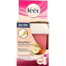 La eliminación del pelo VEET Refill EasyWax de piernas y brazos aceitosos