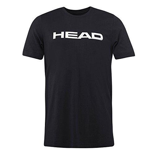 HEAD Kinder Ivan T-Shirt, Schwarz/Weiß, Size 164