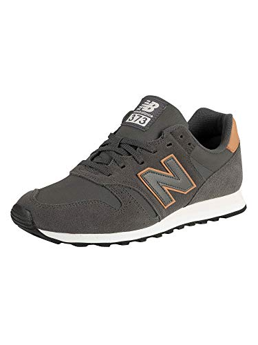 reputable site e3af6 ea0a7 New Balance 373, Baskets Homme, Gris Grey, 42 EU