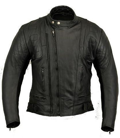 Blouson Moto Xl - GearX US20 Blouson moto en cuir pour