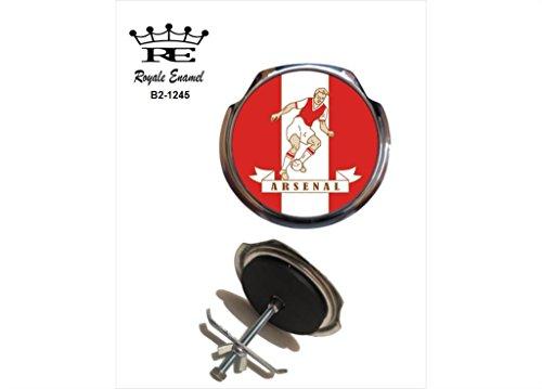 Preisvergleich Produktbild Royale Emaille Royale Car Grill Badge – Arsenal 1960 / 61 B2. 1245