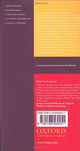 Oxford Handbook of Infectious Diseases and Microbiology (Oxford Medical Handbooks)