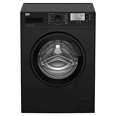 Beko WTG721M1B A+++ Rated 7kg 1200 Spin 15 Programmes Washing Machine in Black by Beko