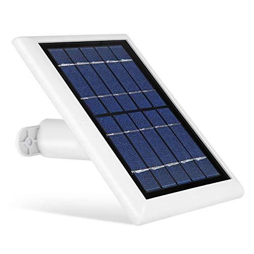 Solar Panel für Arlo PRO, Arlo PRO 2, Arlo GO und Arlo Light, Mit dem neuen Solarmodul von Wasserstein können Sie Ihre Arlo Outdoor-Kameras kontinuierlich mit Strom versorgen (weiß). 360 Panel-system