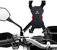Grefay Soporte de motocicleta Teléfono Celular Universal Para Teléfono Móvil Abrazadera de la Horquilla 3,5 a
