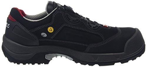Jalas Chaussures basses de sécurité 1738Zénith easyroll S3SRC noir/gris/rouge