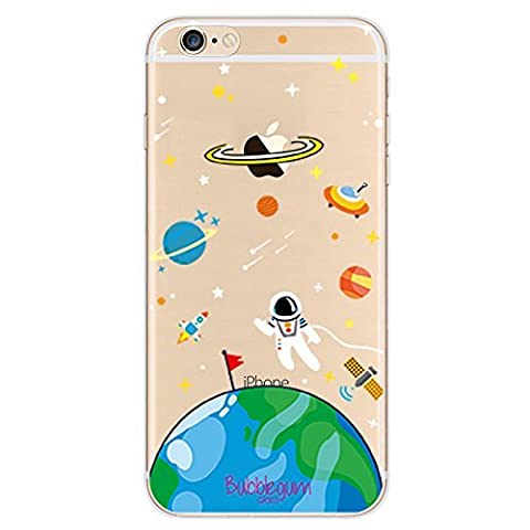 BubbleGum® for iPhone Models SPACESHIPS Case Collection - Tpu Protective