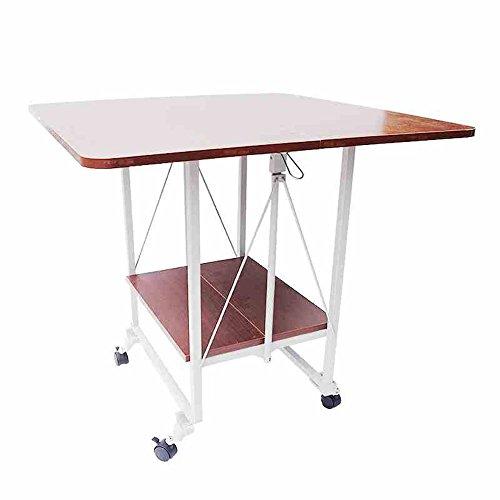 LVZAIXI Table Pliante de beauté à la Maison (Taille : 60 * 60 * 54cm)