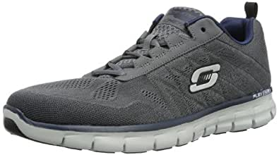 Skechers SynergyPower Switch, Herren Sneakers, Grau (CCNV), 40 EU