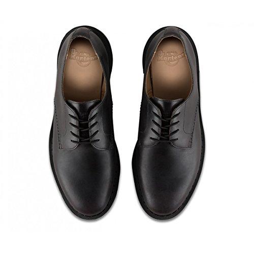 Dr.Martens Mens Octavius Leather Shoes Schwarz