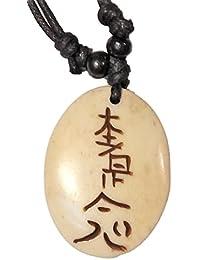 Colgante hueso Reiki, símbolo nº 3